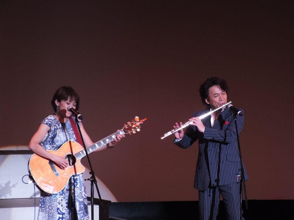 夢の扉コンサート:高道(狩人)&あさみちゆき